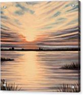 Highlights Of A Sunset Acrylic Print
