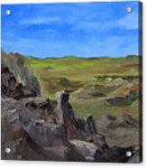 Hunters Overlook Badlands South Dakota Acrylic Print