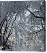 Ice Storm On The 6th II Acrylic Print
