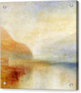 Inverary Pier - Loch Fyne - Morning Acrylic Print by Joseph Mallord William Turner