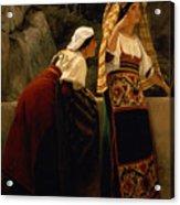 Italian Women From Abruzzo  Acrylic Print