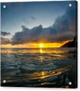 Kaena Point Sunset Acrylic Print