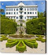 Lake Como,villa Carlotta, Italy Acrylic Print