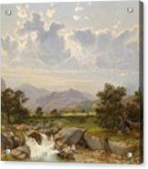 Landscape Near Abtenau Acrylic Print