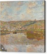 Late Afternoon Vetheuil Acrylic Print