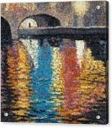 Light On The Water Acrylic Print