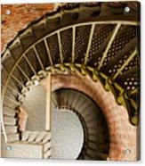 Lighthouse Stairs Cape Blanco Oregon 1 Acrylic Print