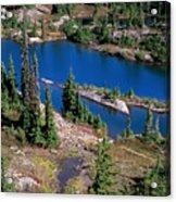 Lila Lake Acrylic Print