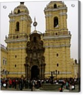 Lima Peru Church Acrylic Print