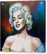M. Monroe Acrylic Print