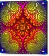 Mandala For Awakening The Creative Energy Acrylic Print