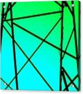 Metal Frame Abstract Acrylic Print