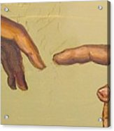 Michelangelos Creation Of Adam 1510 Acrylic Print