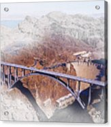 Mike O'callaghan Pat Tillman Memorial Bridge Acrylic Print