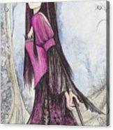 Mis Witch  Acrylic Print