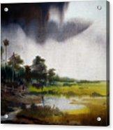 Monsoon Village  Acrylic Print