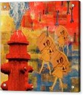 Morton Salt Girl Copy Acrylic Print