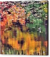 New England Reflections Acrylic Print by Betty LaRue