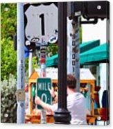 # One Stolen Sign Key West  Acrylic Print