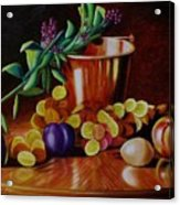 Pail Of Plenty Acrylic Print