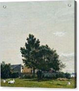 Party Near The Lime Kiln With Views Towards The Copenhagen  Acrylic Print