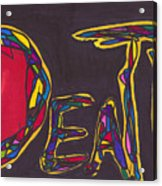 Pillar Of Death Acrylic Print