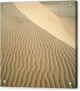 Pismo Dunes Acrylic Print