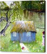 Playhouse By The Lake Acrylic Print