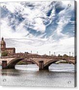 Ponte Alla Carraia, Firenze Acrylic Print