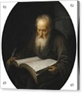 Portrait Of A Scholar Acrylic Print