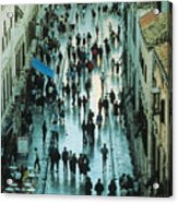 Promenade In Dubrovnik Acrylic Print