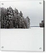 Pyhajarvi Panorama 2 Acrylic Print