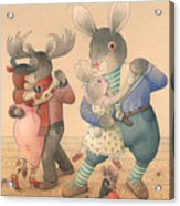 Rabbit Marcus The Great 04 Acrylic Print