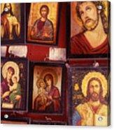 Religious Icons Acrylic Print