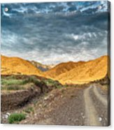 Road In The Mountains Acrylic Print