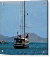Sailing Virgin Islands Acrylic Print