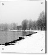 .. Spiaggia Di Neve ... Acrylic Print