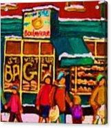 St. Viateur Bagel Family Bakery Acrylic Print