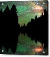 Starry Dreamscape Acrylic Print