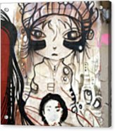 Strange Girl Acrylic Print