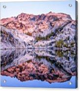 Leprechaun Lake Sunrise Acrylic Print