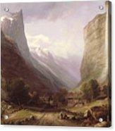 Swiss Scene Acrylic Print