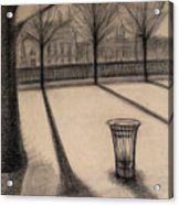 The Evening In Tuileries Paris Acrylic Print