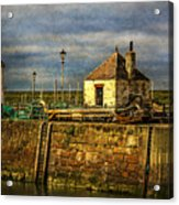 The Harbour At Maryport Acrylic Print