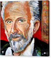 The Most Interesting Man In The World Acrylic Print by Jon Baldwin  Art