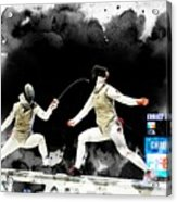 The World Cup Women's Foil  2  Acrylic Print