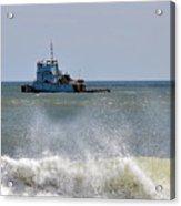 Tugboat Thomas D Witte Acrylic Print