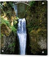 Two Falls Acrylic Print