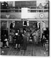 Uso Show May 5 1944 Black White 1940s Archive Acrylic Print