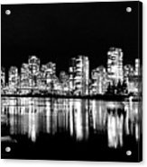 Vancouvers Silver Lining  Acrylic Print